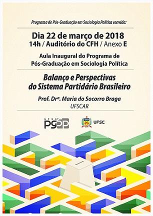 Aula Inaugural do Programa de Pós Graduação em Sociologia Política